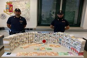 Arrestato contrabbandiere di sigarette