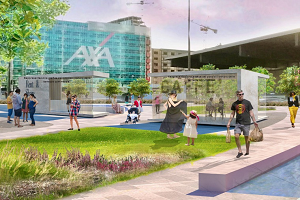 Piazza Freud diventa pedonale: più verde e spazi pubblici