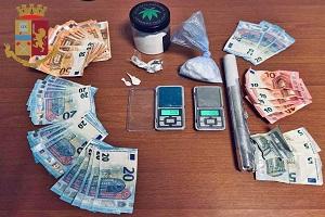 Italiano, marocchino e libico arrestati per spaccio di cocaina