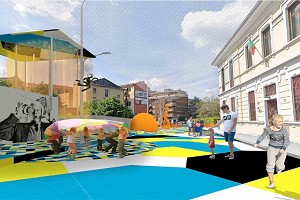 Nuovi interventi di urbanistica tattica via Toce, via Tripoli e in piazzetta Capuana