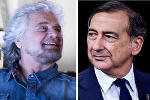 Incontro Grillo - Sala. Osnato (FdI): chi è il comico fra i due?