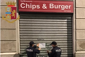 Sospesa la licenza a Chips And Burger