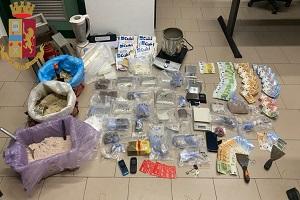 Albanese nascondeva 20 kg di droga in un magazzino