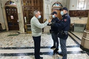 Arrestato dopo un furto nel Santuario San Camillo de Lellis