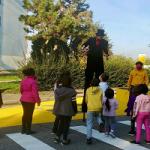Via Quarti colorata dai bambini