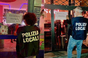 Chiusura immediata di un bar per assembramenti