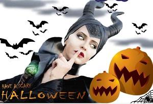 Halloween: il Circo di Peschiera Borromeo (Milano) mette in scena Maleficent Tribute
