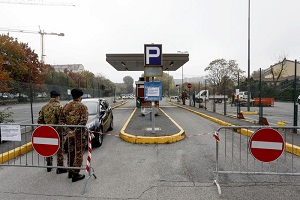 L'Esercito prepara il drive-through più grande d'Italia