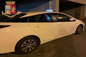 Arrestato taxista per detenzione di cocaina