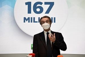 Fontana: 167 milioni per le categorie escluse dai decreti ristori