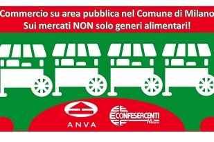 Mercati ambulanti, a Milano non solo alimentari