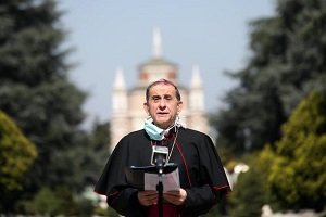 Monsignor Delpini è guarito