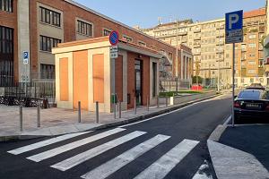 Via Zarotto: realizzati 119 posti auto e una nuova area pedonale