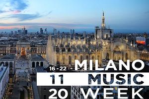 Dal 16 al 22 novembre Milano Music week in streaming
