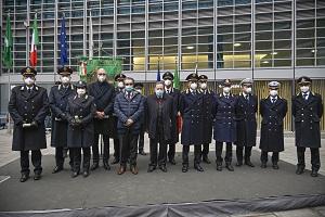 Premiati agenti della Polizia Locale impegnati nell'emergenza covid