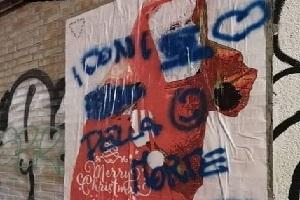 Street artist: mie opere vandalizzate dai negazionisti