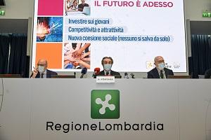 Regione: lotta virus e ripartenza economica le priorità per il 2021