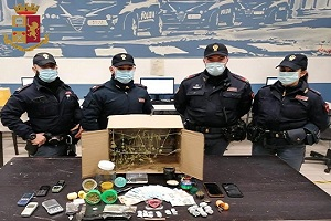 Arrestati 2 pregiudicati per spaccio di droga