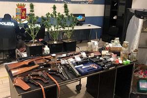 Bonola: scoperta serra casalinga di cannabis