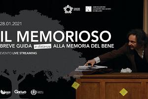 """Giorno della memoria: """"Il memorioso"""" in streaming per le scuole"""