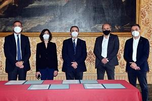 Firmato oggi il Protocollo d'intesa per la qualità del lavoro negli appalti del Comune