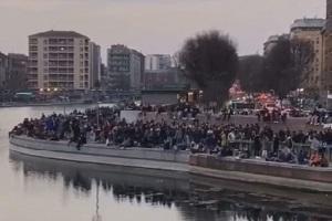 De Chirico (FI): protocollato esposto contro il Sindaco Sala cerca scuse per gli assembramenti in Darsena