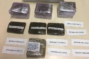 Arrestati due pusher e sequestrati oltre 20 mila euro e 6 etti di hashish