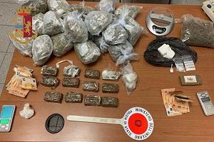 Due arresti per detenzione e spaccio di droga