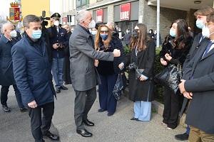 Il Capo della Polizia a Milano e Cinisello Balsamo