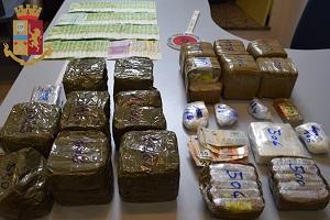 Sequestrati 60 kg di droga