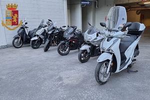 Arrestati ladri di motociclette