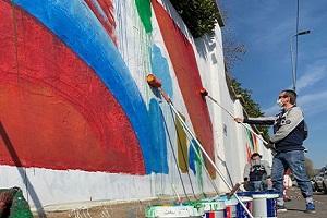 Nasce il distretto del fumetto con murales di Valentina e Diabolik