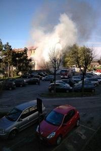 Esplosione in via Quarti