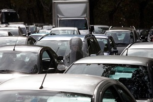 Milano in giallo e torna il traffico