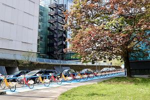 Nuova stazione del BikeMi in via Crespi