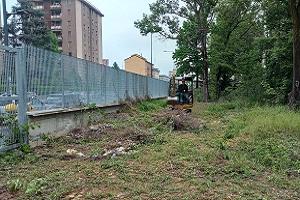 Avviati i lavori per il giardino segreto di viale Monza
