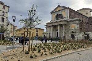 Conclusa la riqualificazione di Piazza San Luigi