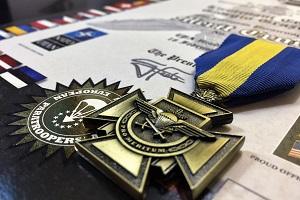 La Croce al Merito dell'EPA conferita ai donatori più generosi
