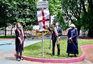 Dedicato a Rosa Parks il giardino di via Ardissone