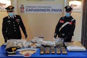 Architetto arrestato con oltre 9 kg di stupefacenti