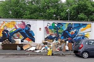 De Corato (FdI): i murales non fermano gli scarichi abusivi