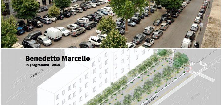 Municipio 3 - riqualificazione Via Benedetto Marcello