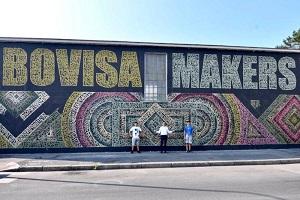 In Bovisa il primo murales identificativo di quartiere
