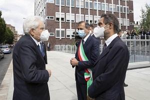Mattarella a Milano per  il nuovo campus del Politecnico