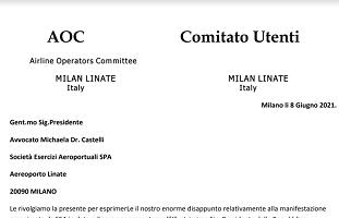 """Linate, Onlit: """"Escluse le compagnie aeree dall'inaugurazione, Sea non inclusiva"""""""