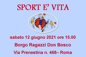 lo sport è vita