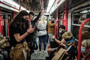 L'occupazione dei mezzi pubblici passa all'80%