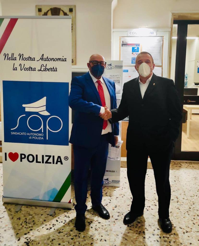 Fratelli d'Italia accompagna Bernardo dal sindacato autonomo di polizia