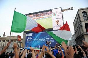 Niente maxischermo per la finale europea