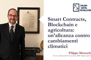 Smart Contracts, Blockchain e agricoltura: un'alleanza contro i cambiamenti climatici